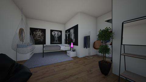 dream room - Modern - Bedroom  - by ulyanchukV