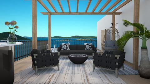 rooftop terrace - Garden  - by Amy Robberts