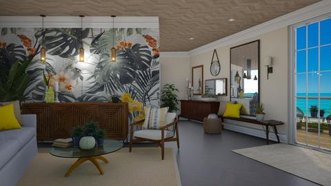 Cape Living - Eclectic - Living room  - by paluvica
