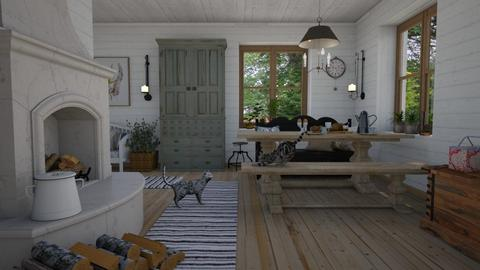 Farm house - by Tuija