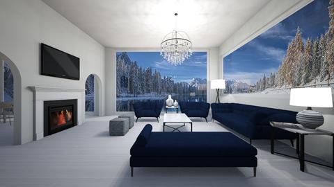winter wonderland - Living room  - by sophiell