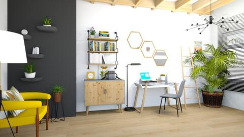 Beehouse Inspired Office - Office  - by matina1976