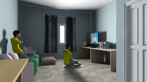 my dream house room thing - Living room - by jakon