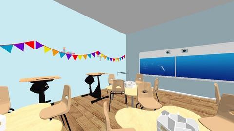 classroom - by CTilbury