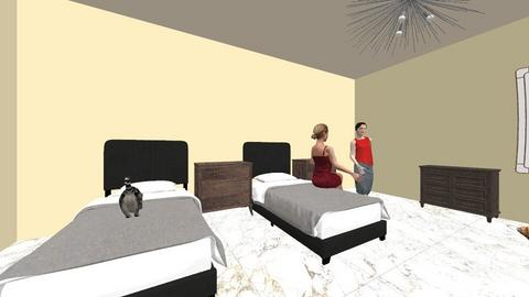 habitacion 2 - Minimal - Bedroom - by esmenette145