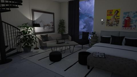Stormy - Living room  - by LillMiaaa