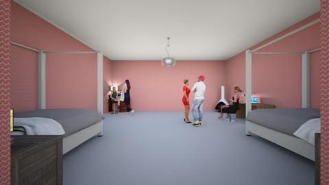 family - Modern - Bedroom - by rhawley