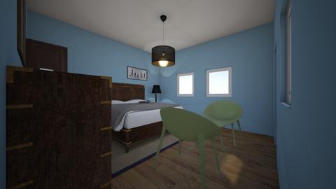 Kieran - Bedroom  - by kittytarg