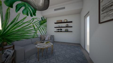 tropical living - Eclectic - Living room  - by kenl