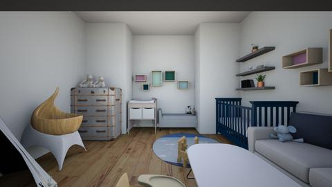 Baby room contest  - Modern - Kids room  - by isabelledesigns