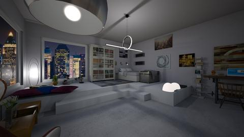Loft in New York - by CaterinaBoccato