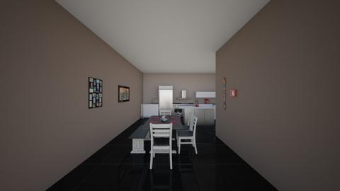 Kitchen entrance view - Kitchen  - by emilierankin