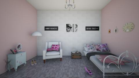 vintage room  - Vintage - Bedroom  - by RitaRB