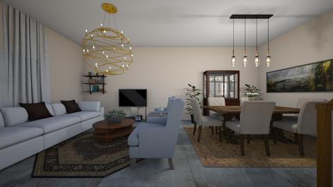 our home - Living room  - by cesbf