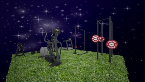 silownia na dworze - Garden  - by gamewiner