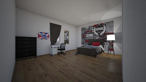 homework  - Modern - Bedroom  - by sophiabarreto