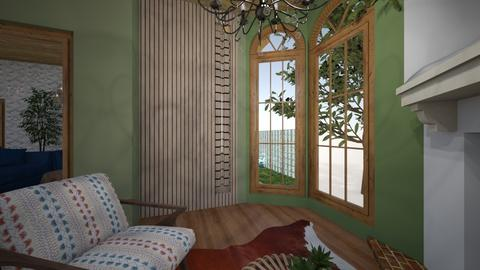 No Campo - Living room  - by brendaregll