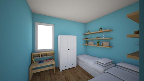 Habitacion de los peques3 - Kids room - by yo1974