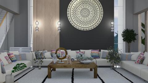 home - Living room  - by nihalruttala