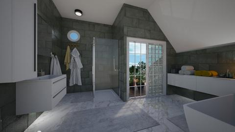 Art Deco remix1 - Bathroom  - by mikaelahs