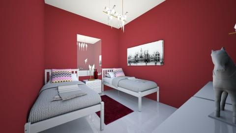 quarto de hospede - Eclectic - Bedroom  - by kelly lucena