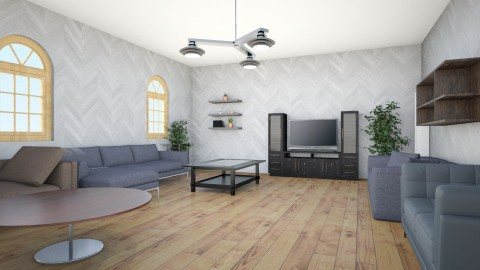 Guest Living Room - Modern - Living room  - by TJGraffiti