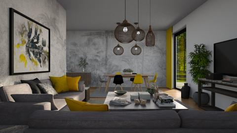 Pantone 2021 - Modern - Living room  - by Claudia Correia
