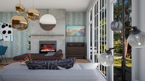 Woodhouse 1 - Living room - by louisdhe