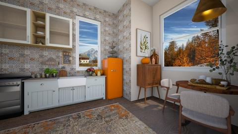 autumn kitchen - Kitchen  - by td123