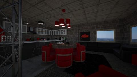 23549jd basement kitchen - by emipinky1996
