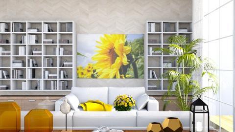 Sunflowers - by Yemascus
