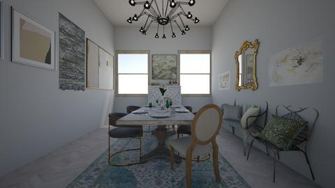 dh dining - Dining room - by meredithcrummey