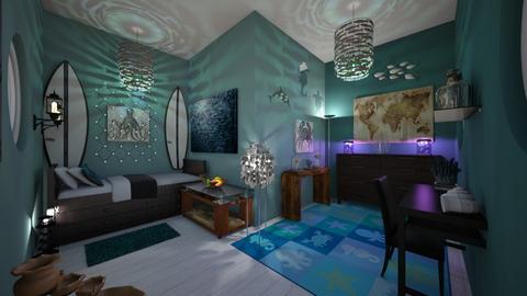 Percy Jackson Bedroom - Bedroom  - by b sharp