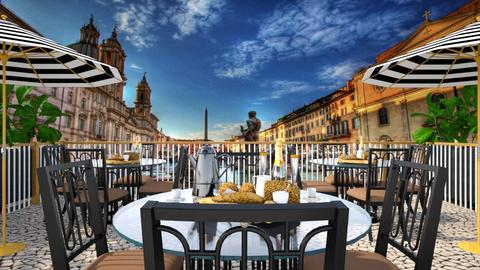 brunch on the piazza - by allday08