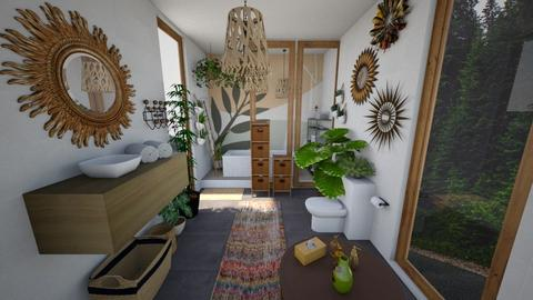 Boho - Bathroom  - by nkanyezi