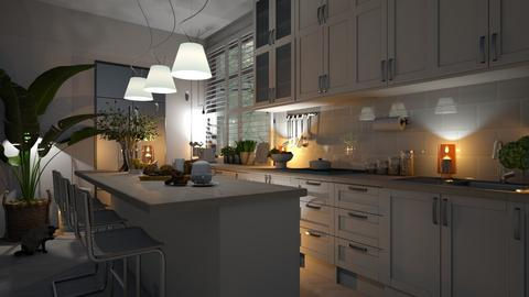MODERN COUNTRY KITCHEN - Kitchen  - by zarky