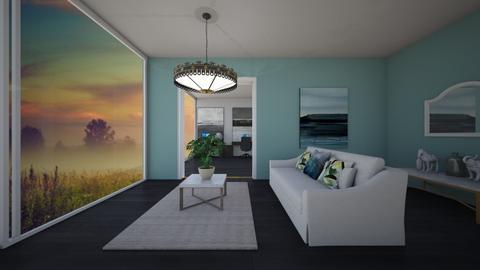 sun room - Living room - by belle alderton