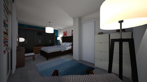 Slaapkamer optie 2 - Bedroom  - by karlijn_mathijs