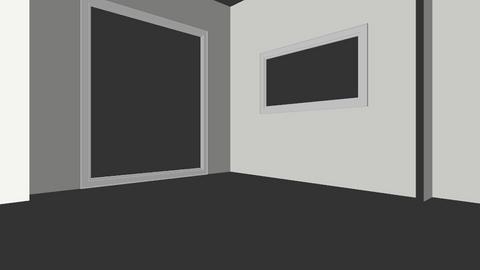 Woonkamer schets 1 - Living room  - by NoortjeVerbeek