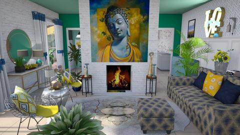 bgy - Eclectic - Living room  - by augustmoon