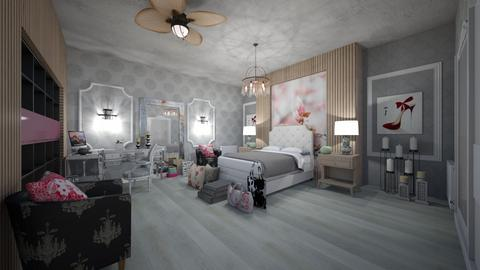 Girl Chique Interior - Glamour - Kids room - by Nikos Tsokos