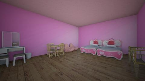 Girl Childrens Bedroom - Classic - Bedroom - by Sparkle_Design
