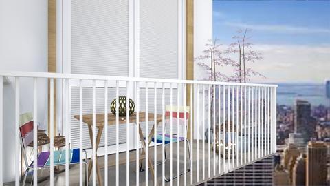 Apartment Balcony - Modern - by millerfam