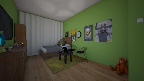 Domik - Bedroom  - by domik
