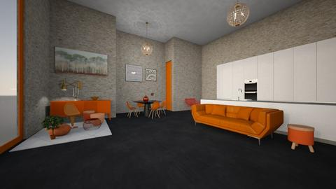 Apartment - Living room  - by homedisigner