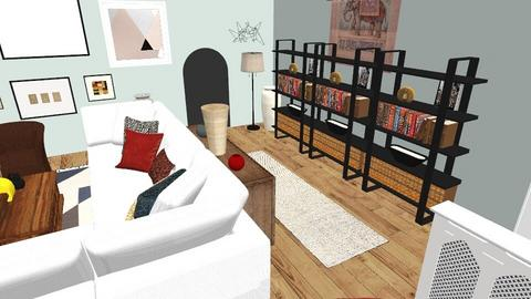 7736 LIVING ROOM - Modern - Living room  - by KCarrington27