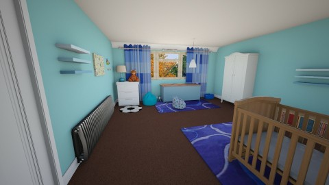 Babys Bedroom 2 - Bedroom - by Suzanne Hoskins