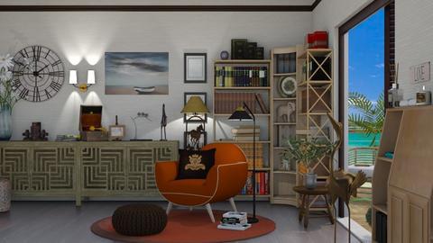 books - Living room  - by nat mi