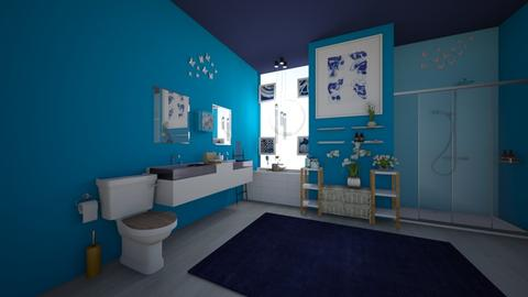 Megan Sproull Master Bath - Bathroom  - by WSDFACS