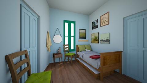 Van Gogh Bedroom - Bedroom  - by elladesign